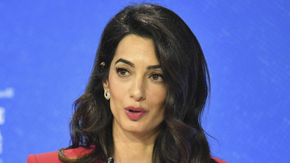 Amal Clooney quits UK envoy role over 'lamentable' international law breach