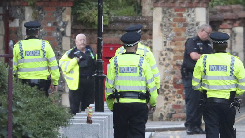 Three people feared dead as police respond to mass stabbing in Britain – Sydney Morning Herald