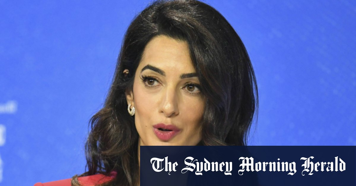 Amal Clooney quits UK envoy role over 'lamentable' international law breach – Sydney Morning Herald