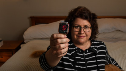 Kate blamed stress for a racing heart. A smartwatch told her otherwise