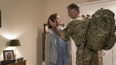 Kristen Scott Thomas stars in Military Wives.