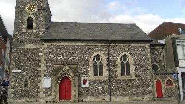St Pancras' parish church, Chichester, West Sussex.