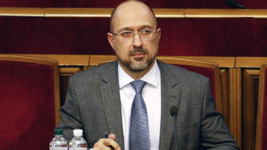Ukraine's newly elected Prime Minister Denis Shmygal replaced Oleksiy Honcharuk.