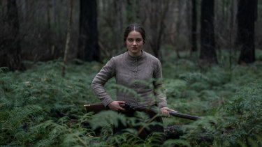 Aisling Franciosi as Clare in The Nightingale.