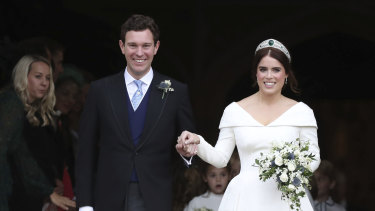 Princess Eugenie tied the knot with Jack Brooksbank in a traditional ceremony in 2018.
