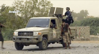 Saudi-led forces near the airport in the port city of Hodeida.