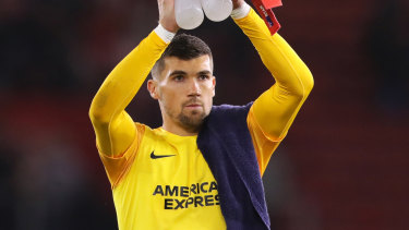 Mathew Ryan has committed to trying to fight for his spot at Brighton but has reportedly been told he's free to leave in January.