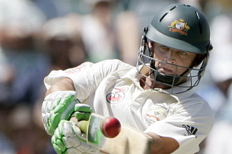 Adam Gilchrist repeatedly took the game away from the opposition coming in at No.7 for Australia.