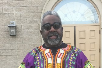 North Charleston voter Frank Russell Junior says he is supporting former vice-president Joe Biden.