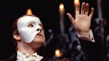 Anthony Warlow in Phantom of the Opera in 1990.