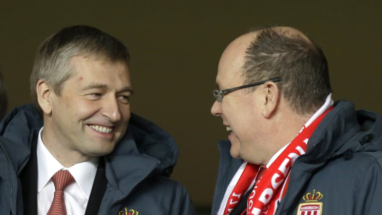 Dmitry Rybolovlev with Prince Albert II of Monaco.