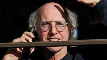 Larry David reflects on life in isolation: ''The one positive thing to come out of this for me is the lunch decision, which in normal times takes me at least 15 minutes.''