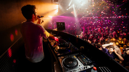 DJ delights: Mark Ronson delivers night of hits and heartbreak