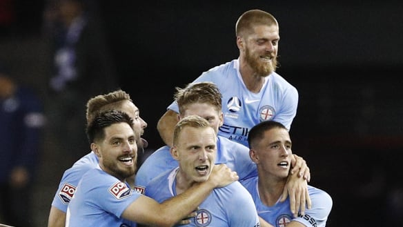 City spoil Victory's Honda welcome party