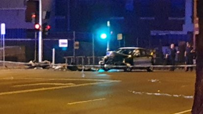 One dead after cars, motorbikes involved in horror smash