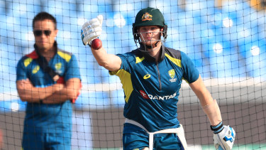 Steve Smith resumed batting last weekend after suffering concussion in the second Test.