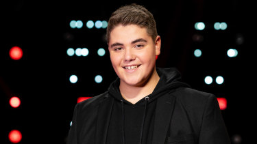 The Voice's 14-year-old finalist, Jordan Anthony.