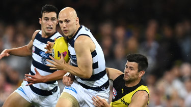 Ablett in his final game.