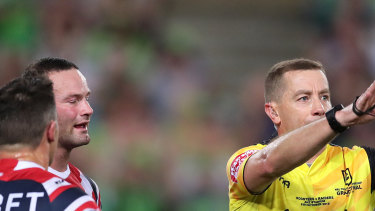 The referees are furious about plans to revert to one whistleblower per game.