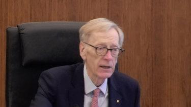 Royal commissioner Kenneth Hayne.