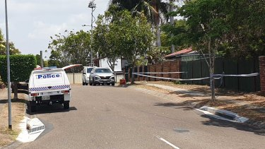 The scene on Sunray Street in Sunnybank Hills last week.