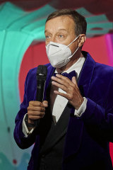 Ross Mollison at Absinthe's reopening night in Vegas in November.
