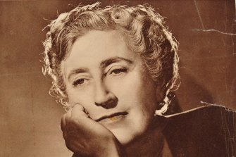 Agatha Christie had murder on her mind.