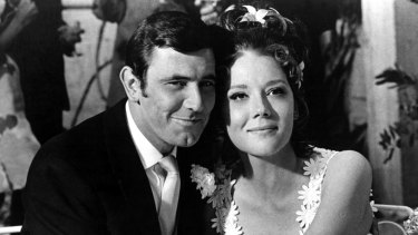 Diana Rigg in On Her Majesty's Secret Service.