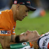 Luke Keary's sickening concussion left Freddy 'speechless'