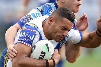 Marcelo Montoya was incorrectly denied a try against the Eels according to Graham Annesley.