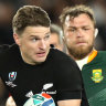 Two sparks of brilliance separate All Blacks and Springboks
