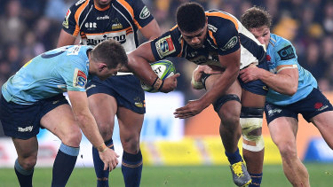 Rob Valetini was one of three uncapped players named to fly to South Africa.