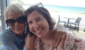 Laura Staples stranded in New Zealand with her ill mother Liz Davis.