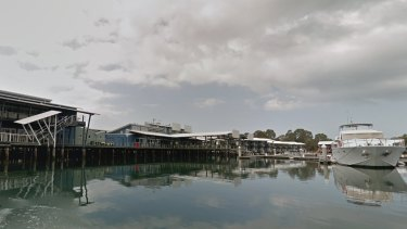 The marina attached to Couran Cove Resort on South Stradbroke Island.