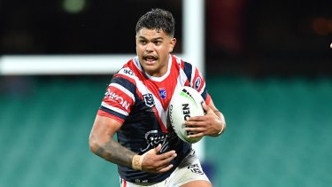 Rumour mill: Speculation has been rife this week that superstar centre Latrell Mitchell could hop on over to the Rabbitohs.