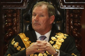 Former lord mayor of Melbourne Robert Doyle has denied any wrongdoing.