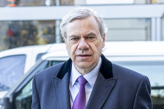 Former Liberal Party president Michael Kroger remains on the party's powerful administrative committee.