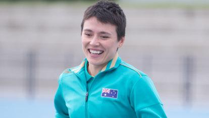 Australia's accidental track star