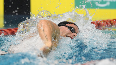 Kyle Chalmers booked his ticket to Tokyo with a win in the 200m freestyle.