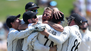 Form team: New Zealand's innings defeat of England in the first Test proved the Black Caps will be a worthy opponent on these shores.