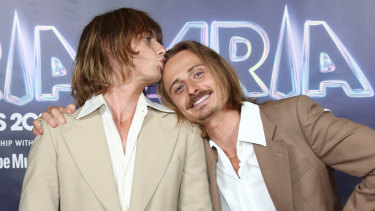 ARIA's breakthrough artist winners Lime Cordiale.
