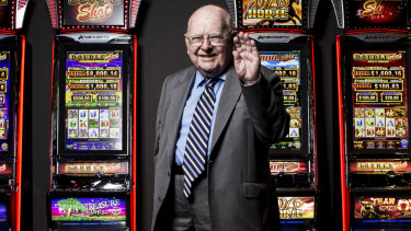 Ainsworth Game Technology was founded by billionaire pokies king Len Ainsworth.