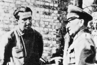 Stalin's oldest son Jakob Stalin was a prisoner at Sachsenhausen from 1941 until his death in 1943. The camp was later run as a prison by the Soviets.