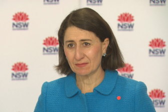 """""""If anybody thinks this is a disease just affecting older people, please think again,"""" Ms Berejiklian said."""