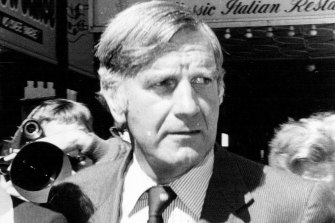 Former National Party politician Ian Sinclair, with whom Frost had a long-running affair.