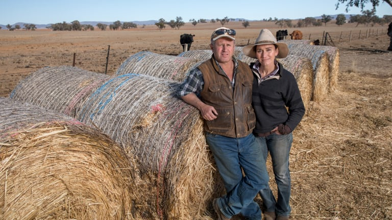 John and Zanthe Atkinson know first-hand how hard it is during a drought.