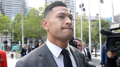 'Never say never' but probably never: door closes on Folau return