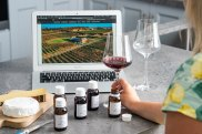 A virtual wine tasting hosted by Le Pont Wine Store.