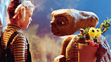 E.T. A simpler time.
