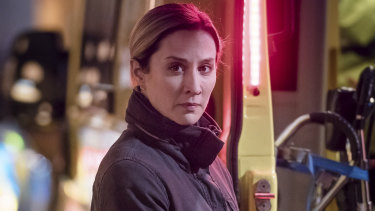 Morven Christie is the complex DS Lisa Armstrong in The Bay.